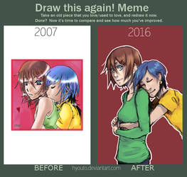 Draw This Again Meme by hyouto