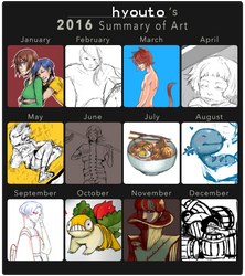 2016 Summary of Art by hyouto