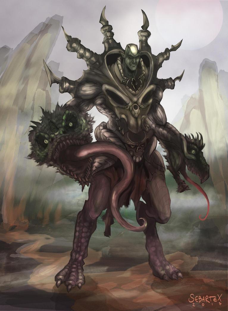 Dragon King by sebartex