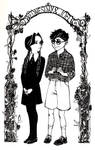 #2 Wednesday Addams and Joel Glicker