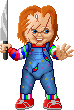 Pixel Chucky by crockalley