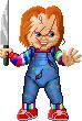 Pixel Chucky by crockalley
