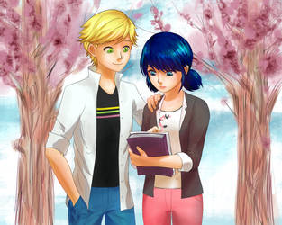 Marinette Failed a Test by tigeatoray