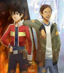 Keith and Lance - Legendary Defenders by tigeatoray