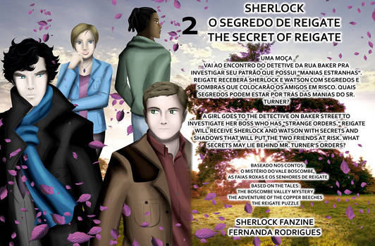 SHERLOCK  SEGREDO DE REIGATE THE SECRET OF REIGATE