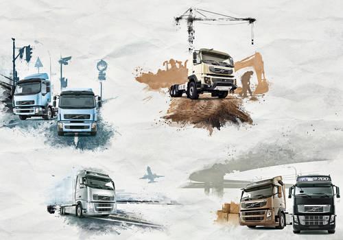 Volvo Trucks - Picture Series