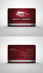 Quality and Trainings B. Card by visio-art