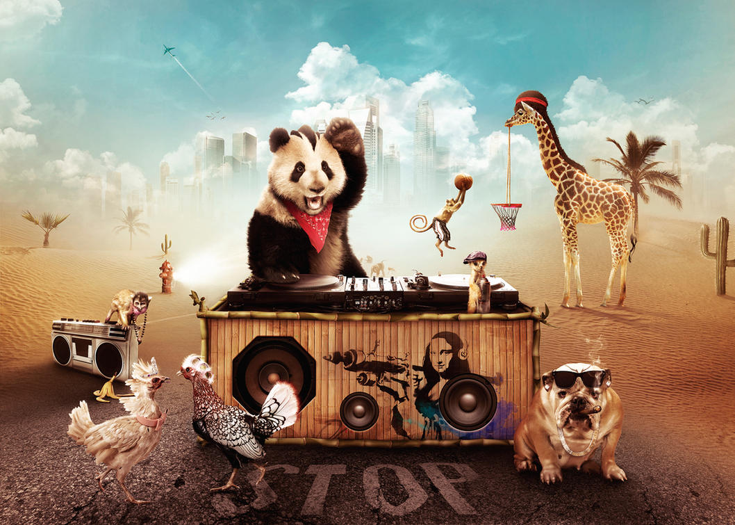 Party Animals by ~visio-art