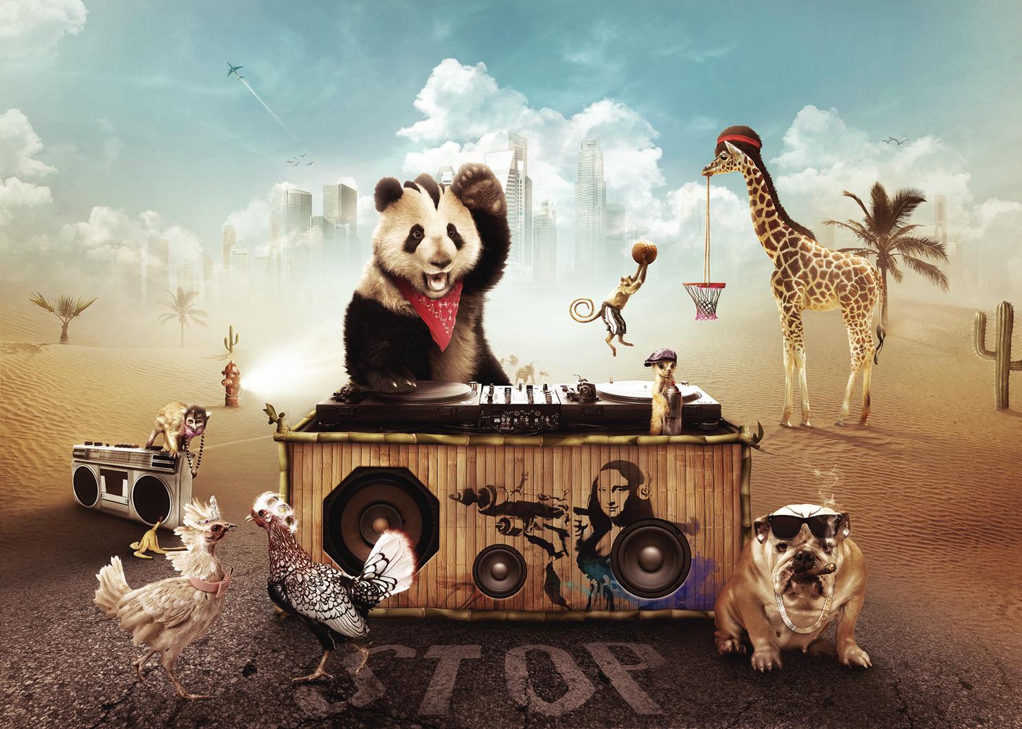 Party Animals By Visio Art On Deviantart