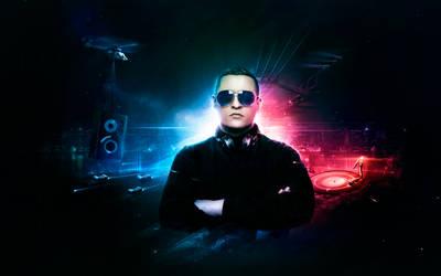 DJ Junkietron by visio-art