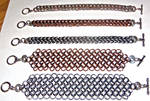Chainmaille sampler