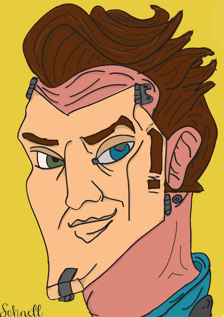 Handsome Jack Borderlands By Sergeantshcnell On Deviantart