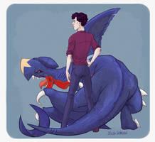 Pokelock Sherlock and Godfrey by AiWa-sensei
