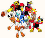 Ponified Robot Masters MM1