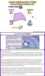 My Pony-Personality test result by FluttershyElsa