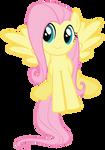 Smiling Fluttershy vector
