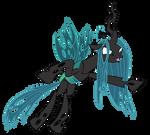 A quick Queen Chrysalis vector