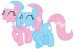 Happy Spa Ponies - Aloe and Lotus together