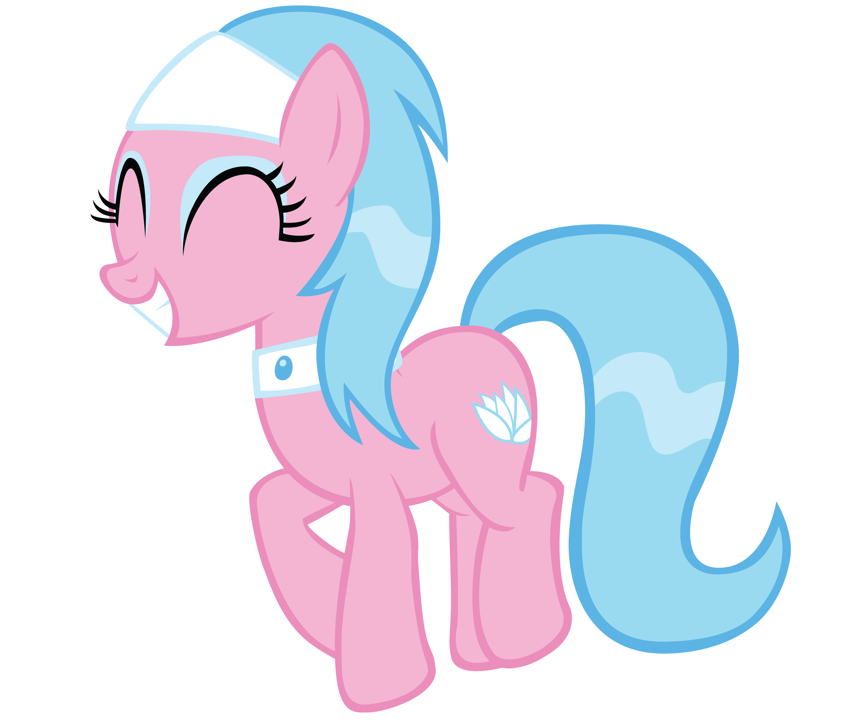 Happy Spa Ponies - Aloe by FluttershyElsa
