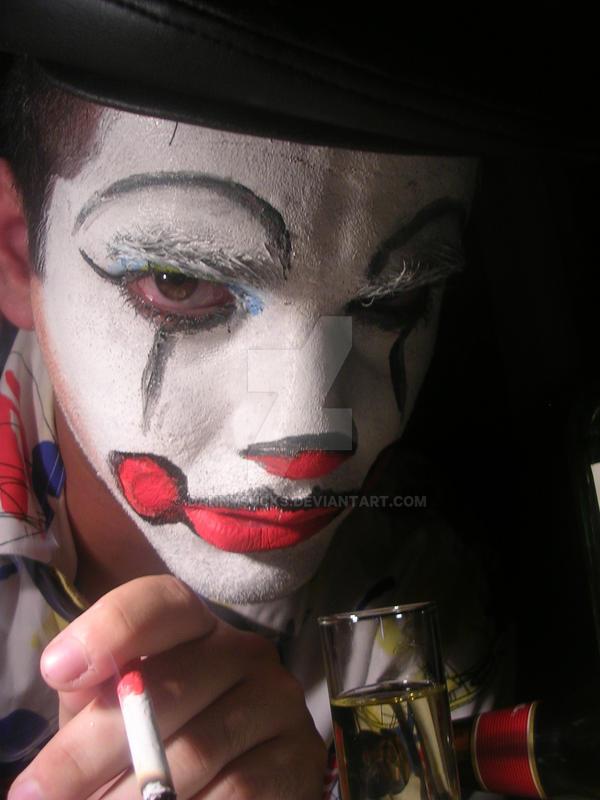 misrable clown by Dannysucks