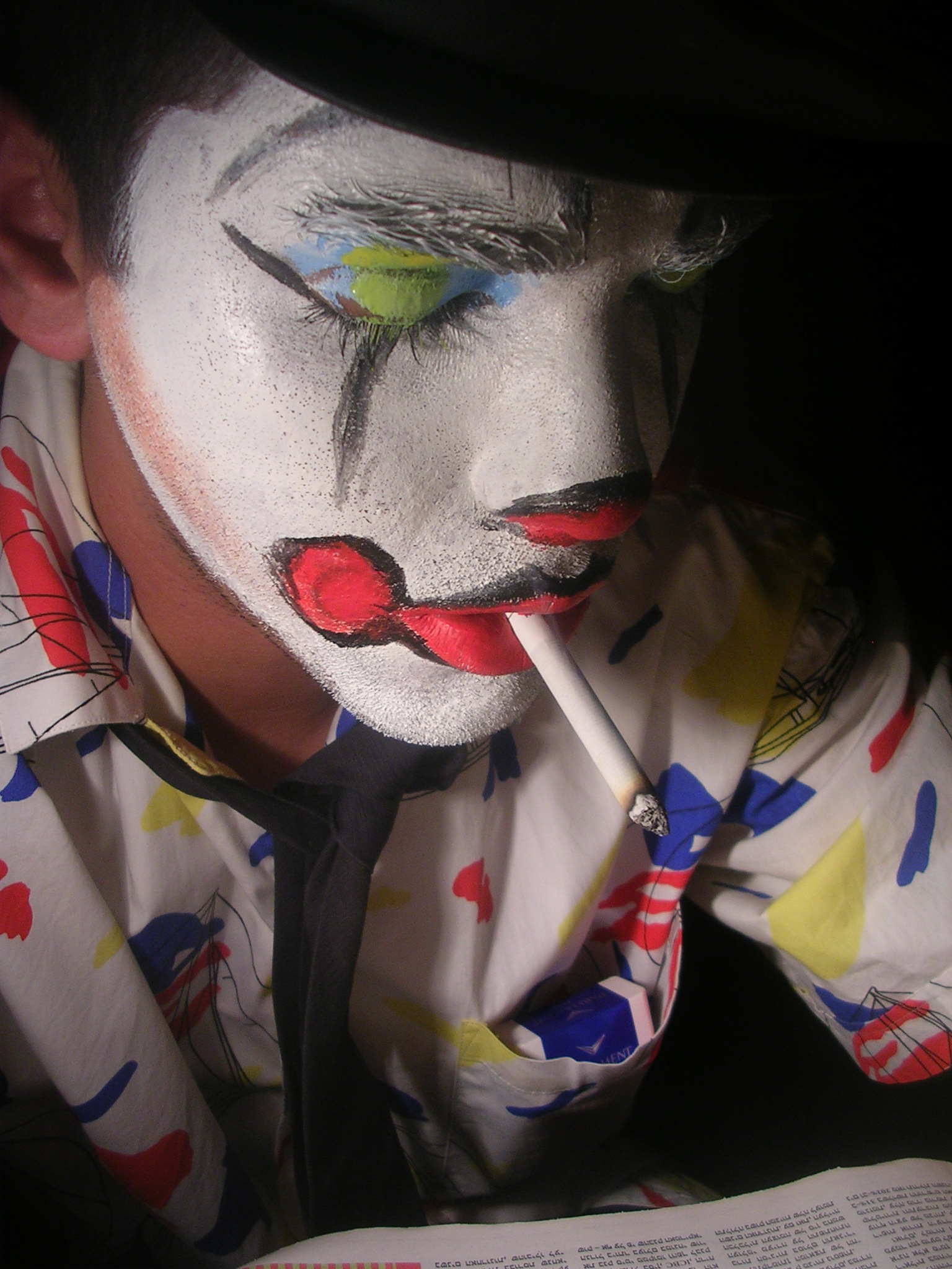 misrable clown 2 by Dannysucks