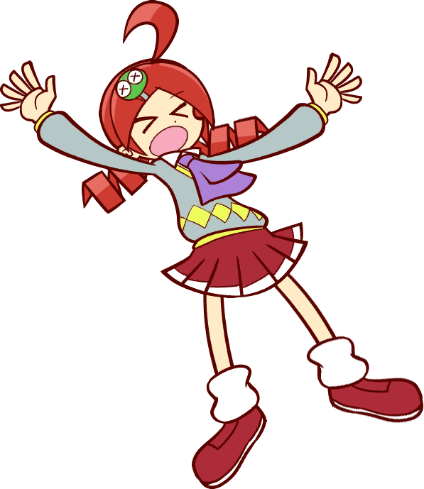 Puyo Puyo Tetris - Ringo (Attacked) Sprite by Nick07208 on DeviantArt