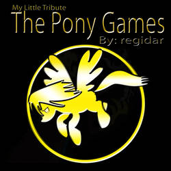 My Little Tribute: The Pony Games Promotional Art by GhostWriter95