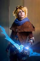 League of Legends - Ezreal by Minus10GradCelsius