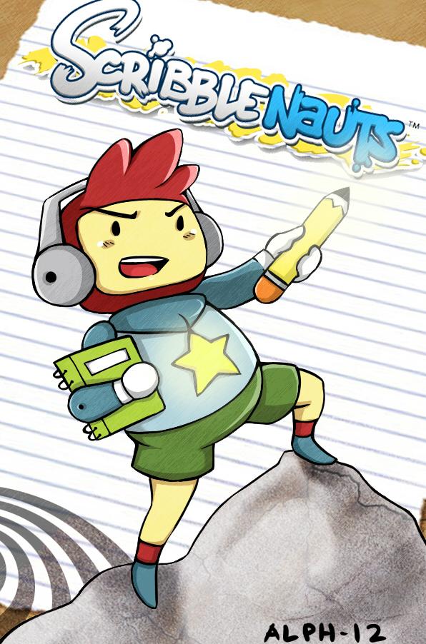 Fanart: Scribblenauts - Maxwell by RakugakiGaki