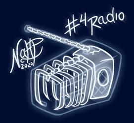 Dia 4. Radio-grafia / #Inktober2020