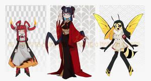 Monster girls auction (CLOSE)