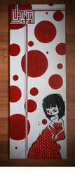 red with white spots by zlina