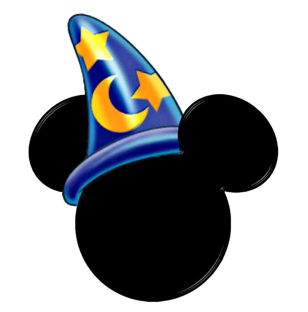 Sorcerer Mickey head logo