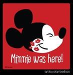 Minnie was here