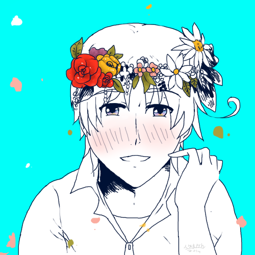 Flower crown by cutecat54546