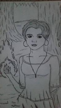 Nicole the flame magician