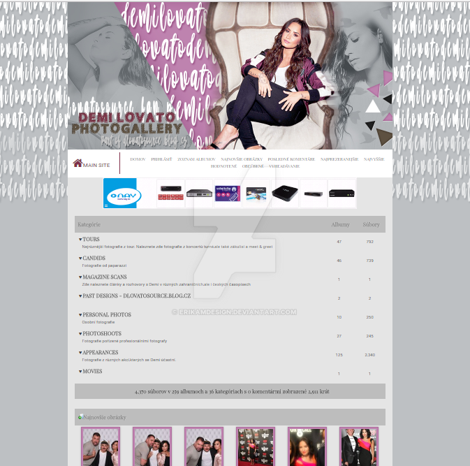 CPG theme for Dlovatosource.fan.pw by ErikaMDesign
