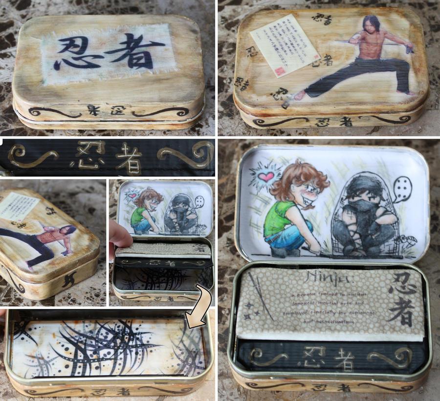 Ninja Rain Altoids wallet by elvaniel