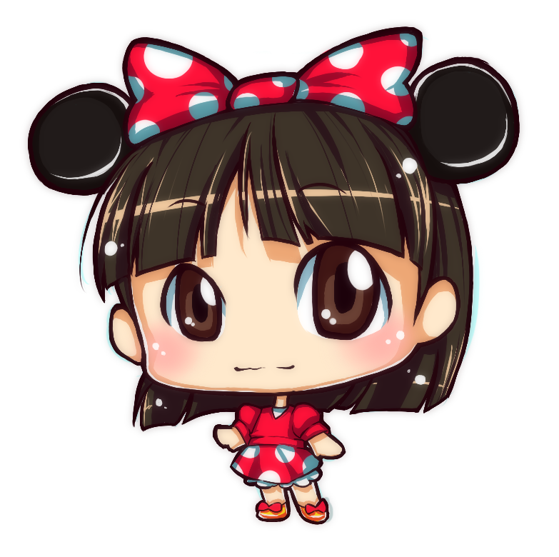 Minnie Mouse Girl by adrianne010794 on DeviantArt