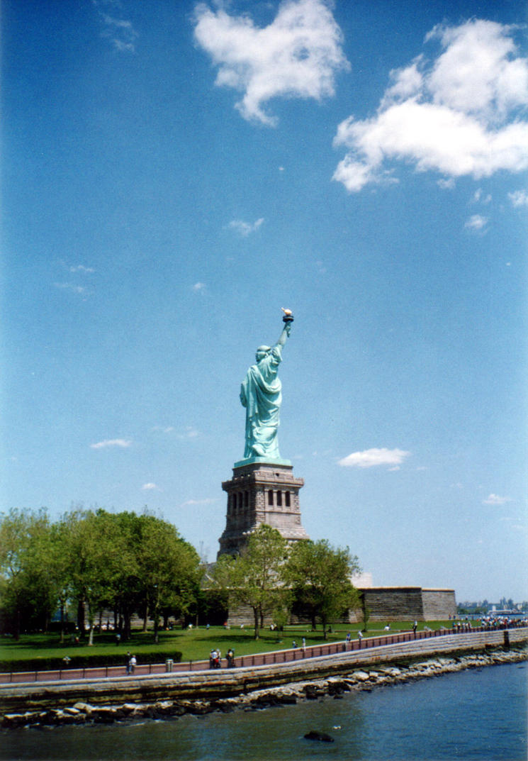Statue of Liberty by ManixTT-stock