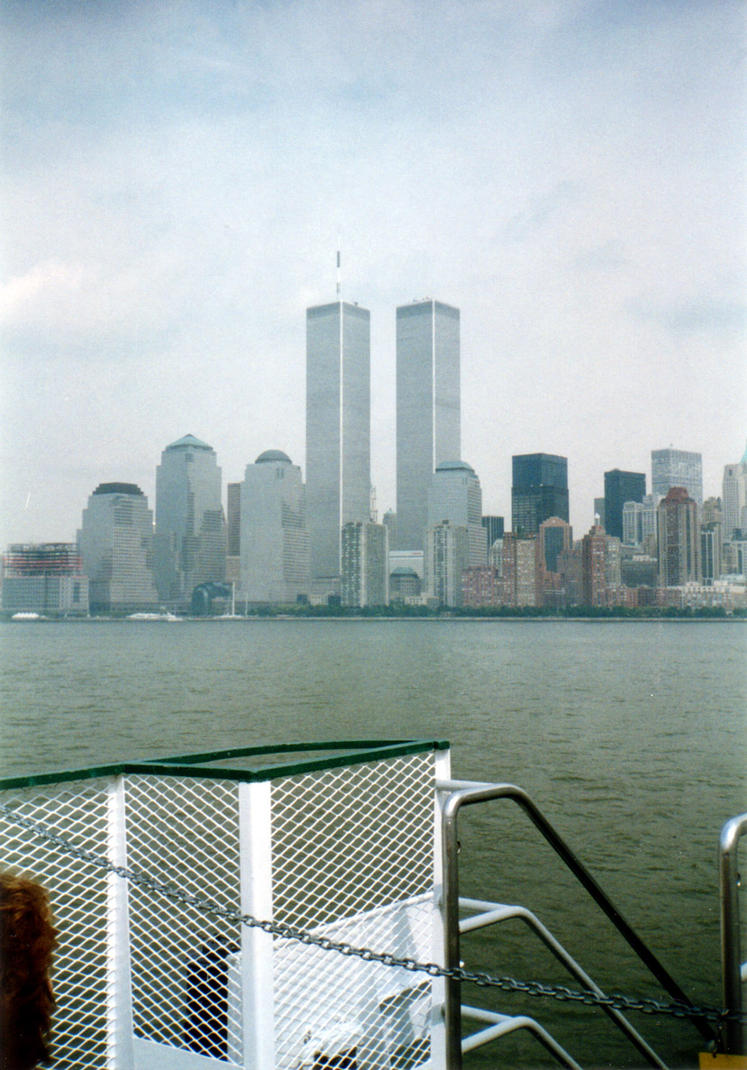 NYC WTC Cityscape by ManixTT-stock