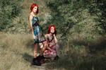 Scissor sisters II by loreelamia