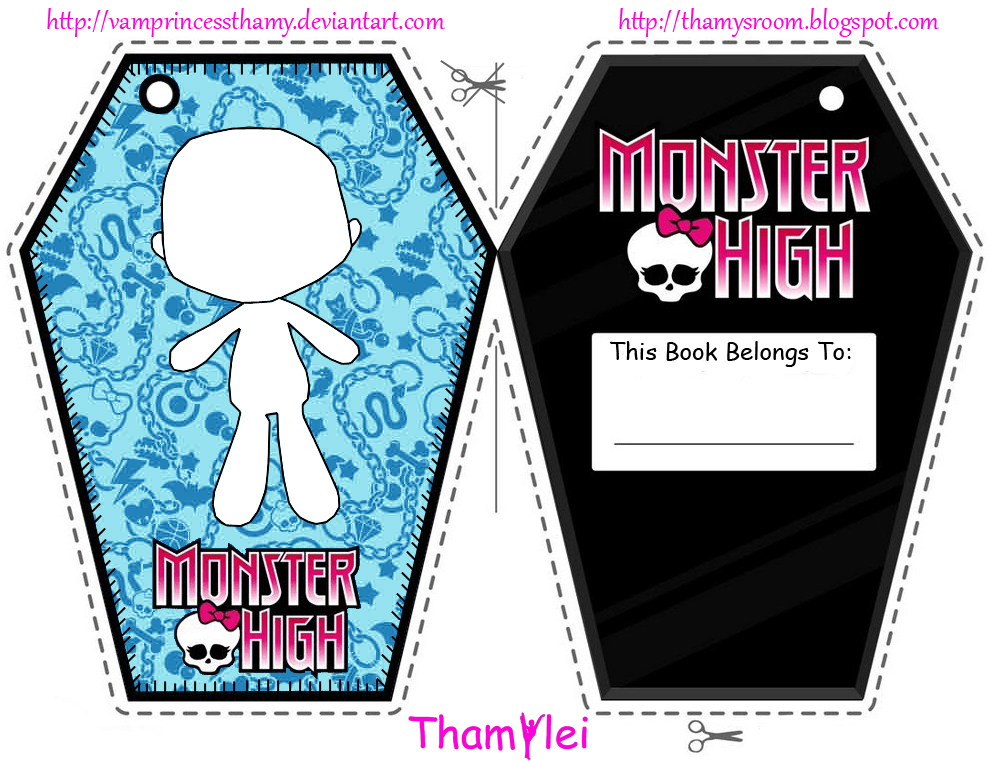 Monster High Bo... Free Digital Clip Art Maker