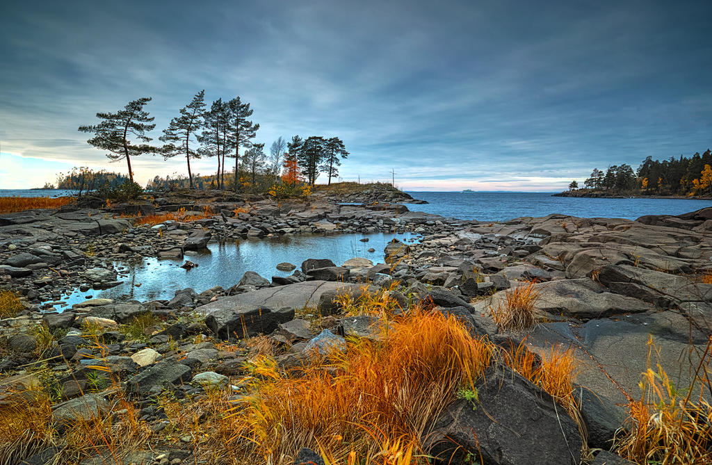 Autumn and Sigma Dp0 Quattro..Valaam Islands  _60_ by my-shots
