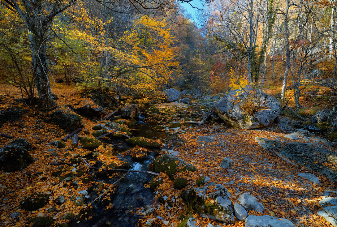 Autumn. The Grand Canyon of Crimea _15 by my-shots