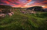 Inkerman. Ancient stone quarries.