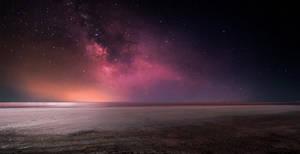 Night over Sasiq-Sivash (salt lake)