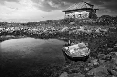 Zayatsky island, White sea