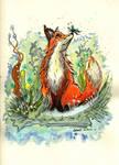 Spring Fox by JuKaWi