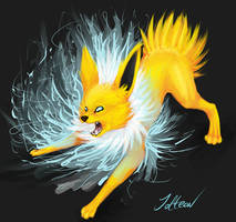 Jolteon flare by Half-Breed